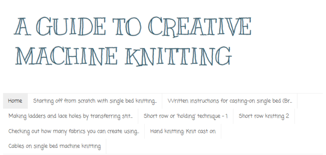 Creative Machien knitting scrshot